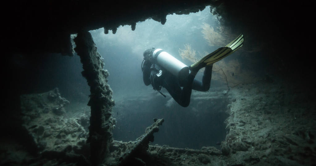 Can You Have Fun While Learning Technical Diving?  Blog Wreck Deep