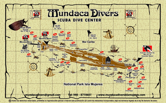 Isla Mujeres The Best Dive Sites for Experienced Divers Mexico