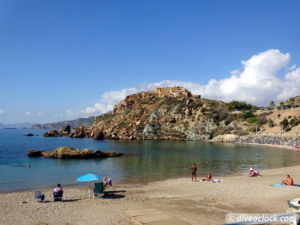 5d94ce3038a Cala Cortina - The Best Dive Spot of Cartagena (Spain) - Dive o'clock!
